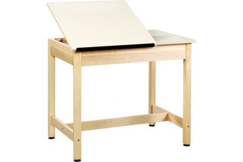 Art Room Drawing Tables 2 Piece Top