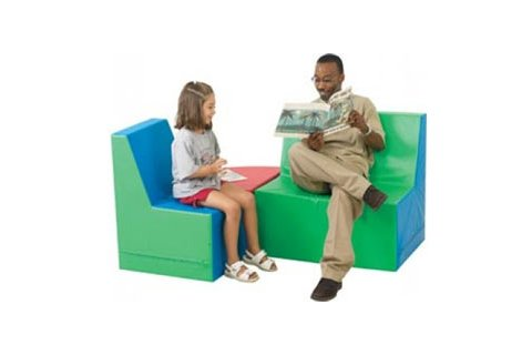 Upholstered Armless Childrens Furniture