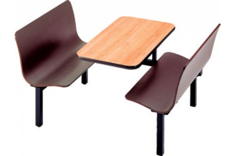 Cafeteria Booths