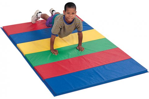Feather-Lite Rainbow Folding Mats