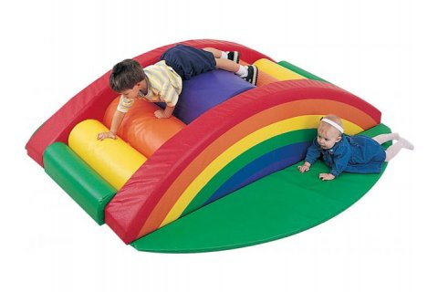 Foam Play Rainbow Arch Climber