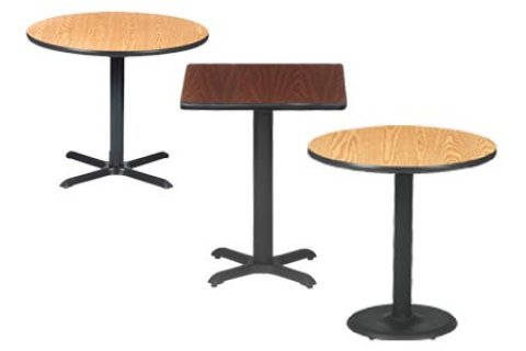 Bar-Height Cafe Tables by BFM Seating