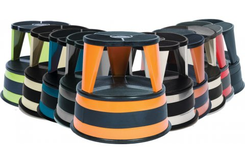 Kik-Step Rolling Step-Stools by Cramer
