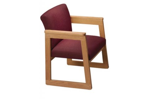 Tapered Arm Chair