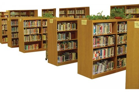 Russwood All-Wood Library Shelving