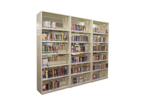 Datum 4Post Steel Library Shelving