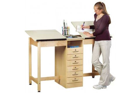 Twin Drafting Tables