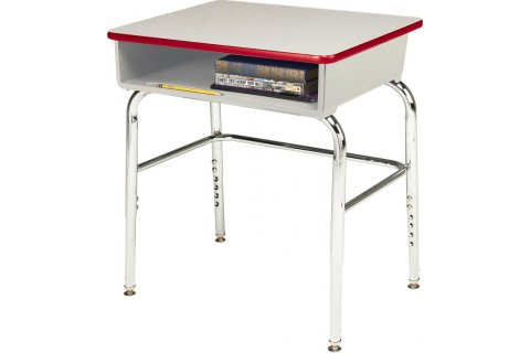 Educational Edge School Desks w/Poly Bookbox