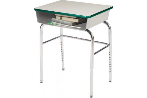Educational Edge School Desks w/Steel Bookbox