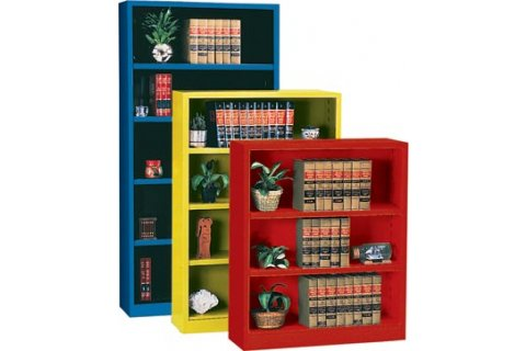 Educational Edge Steel Bookcases by Sandusky