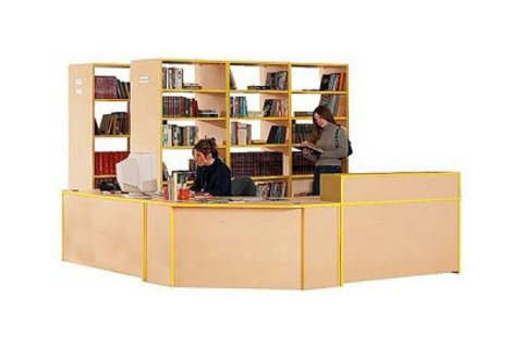 Educational Edge Circulation Desks