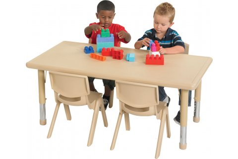 ECR4Kids Resin Preschool Tables and Chairs