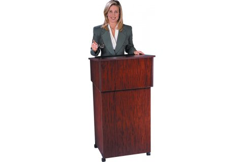 Two Piece Lectern/Cart