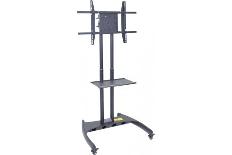Adjustable Height Flat Panel TV Carts