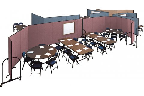 Screenflex FREEstanding Partition Systems
