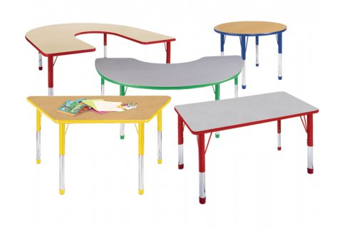 Hercules Color-Banded Activity Tables