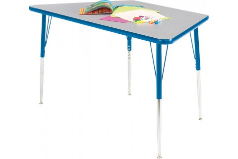 Prima Trapezoid Preschool Tables