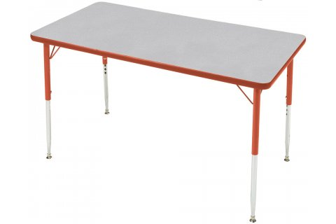 Prima Adjustable Height Rectangular Activity Tables