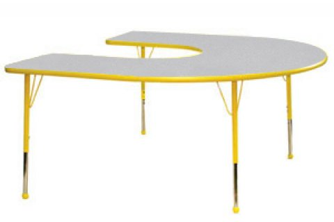 Prima Horseshoe Preschool Table