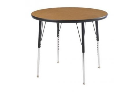 Round Adjustable Height Activity Tables