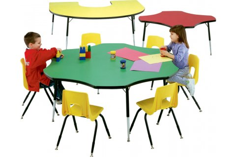 Shaped Playland Tables