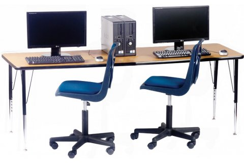 Adjustable Height Computer Tables