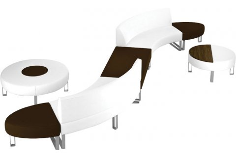 Hip Hop Modular Lounge Seating from Lacasse