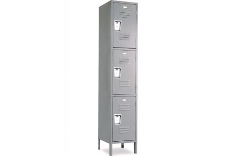Penco 3-Tier QS Lockers Recessed Handle