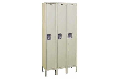 Hallowell Quiet Lockers- 3 wide