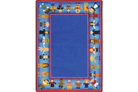 Children of Many Cultures Classroom Rugs