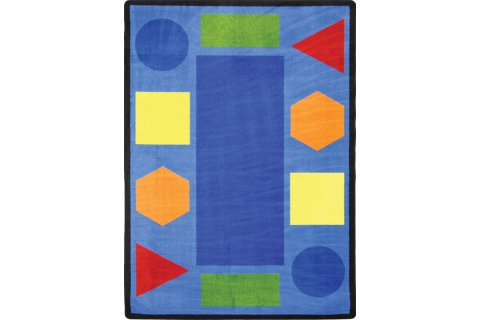 Sitting Shapes Classroom Rugs