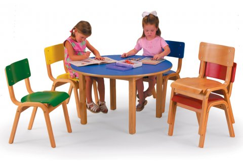 Designer Wood Tables and Chairs