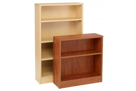 Stax High-Pressure Laminate Classroom Bookcases by Academia