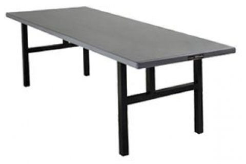 Alum. Rectangular Folding Table- H Legs