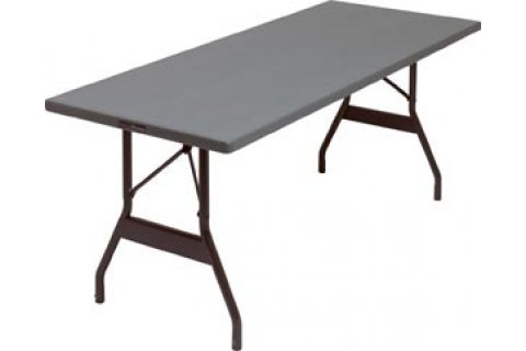 Alum. Folding Table- Wishbone Legs