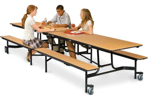 Stow-Away Mobile Bench Units