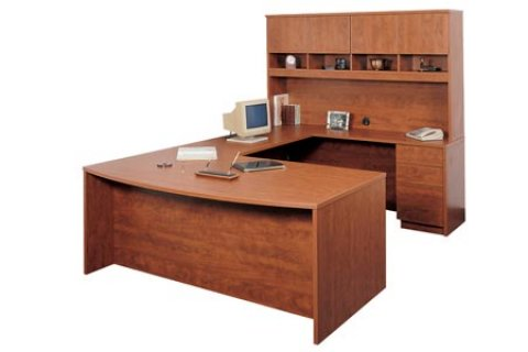 Madrid Executive Office Desks with Hutch