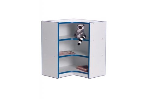 Color Banded Preschool Corner Storage
