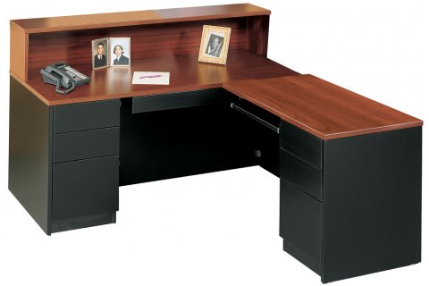 Milan L Shaped Desk