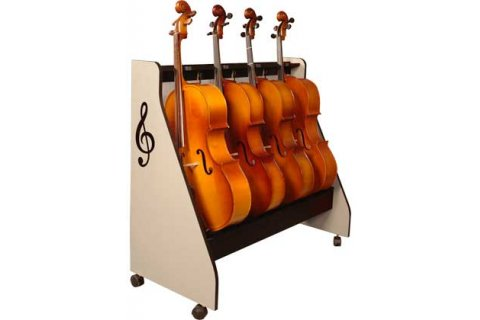 Stringed Musical Instrument Racks