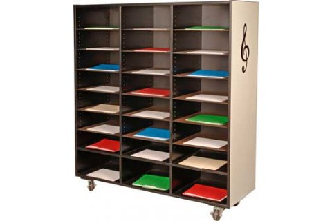 Mobile Music Folio Cabinets Instrument Storage amp Lockers
