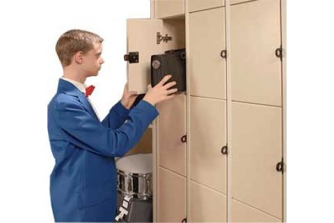Instrument Lockers with Solid Doors