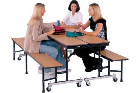 Convertible Bench Table Units