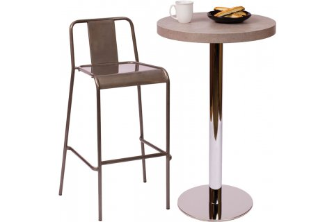 Midtown Bar-Height Cafe Tables by BFM Seating