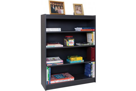Gray Laminate Bookcases by Norsons - CLOSEOUT