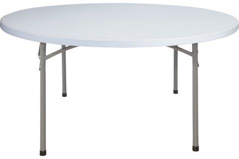 Round Blow Molded Folding Tables