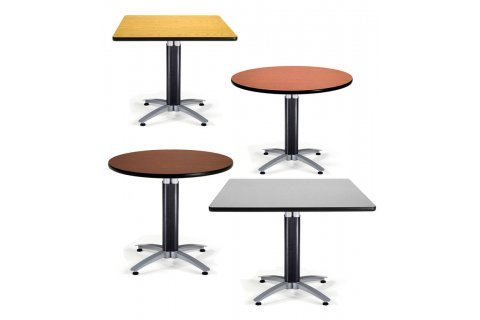 OFM Mesh Base Cafe Tables
