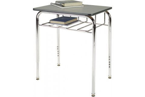1300 Adjustable Height Open View School Desks