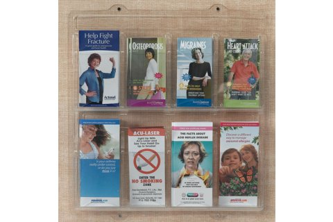 Clear Vu Pamphlet Displays