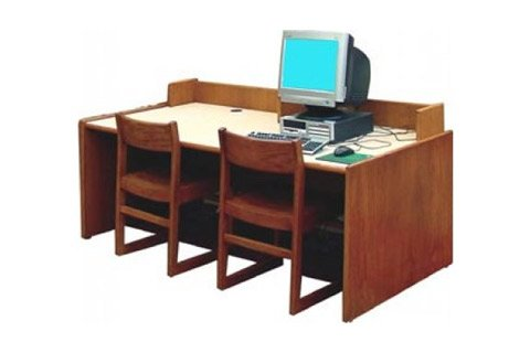 Library Computer Tables by Russwood